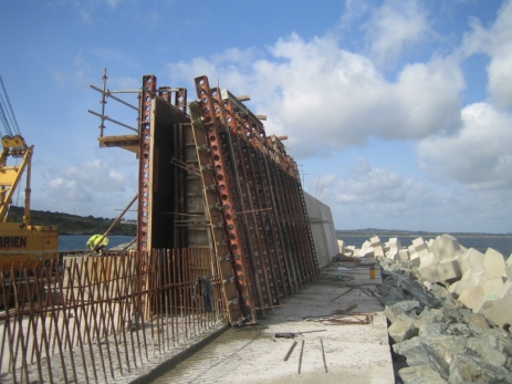 Port Priel Construction 2006